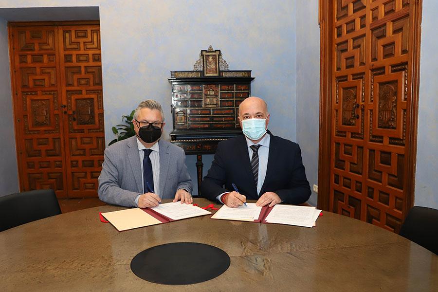 Diputación y Emproacsa firman el convenio para la modificación y ampliación del plazo de ejecución del Plan de Obras Hidráulicas 2019-2021