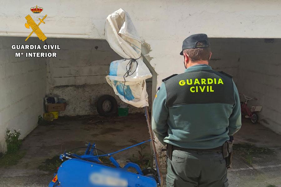 Detenido en Villanueva de Córdoba un vecino como supuesto autor de un delito de robo con fuerza