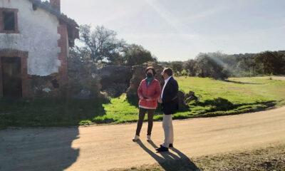 La Diputación interviene en la adecuación ambiental de la vía verde de Villanueva del Duque