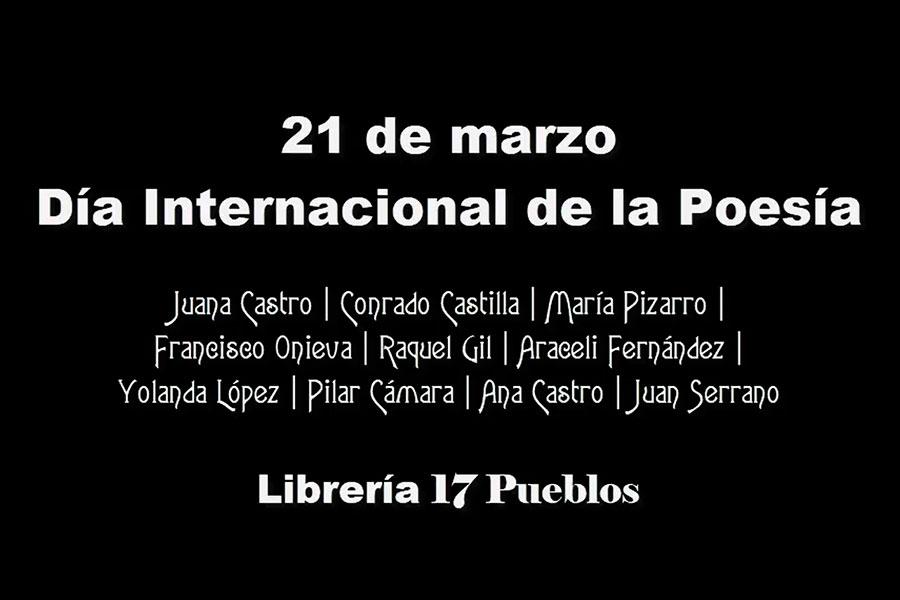 17 Pueblos celebra el Día de la Poesía con poetas y poetisas de Los Pedroches