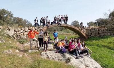 El Ayuntamiento de Pedroche recomienda pide precaución en un puente sobre el arroyo Santa María
