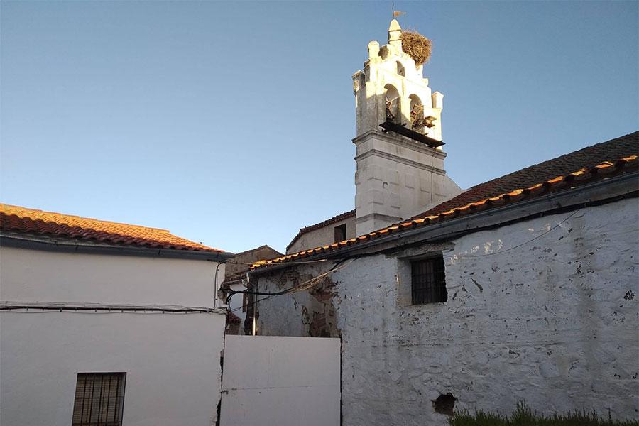 entrada primitiva al Convento de Nuestra Señora de la Concepción de Pedroche