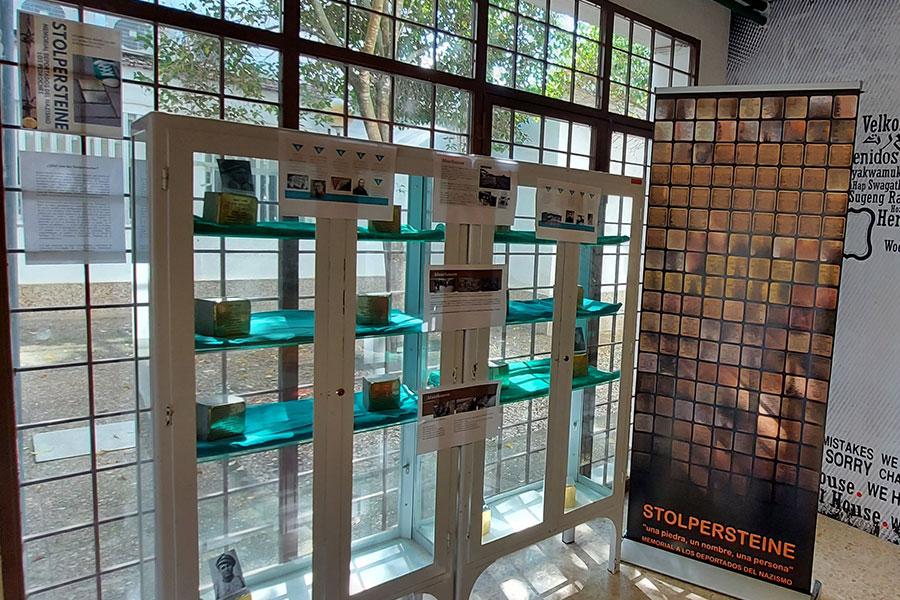 Exposiciones y charlas sobre las piedras de la memoria 'stolpersteine' en Los Pedroches