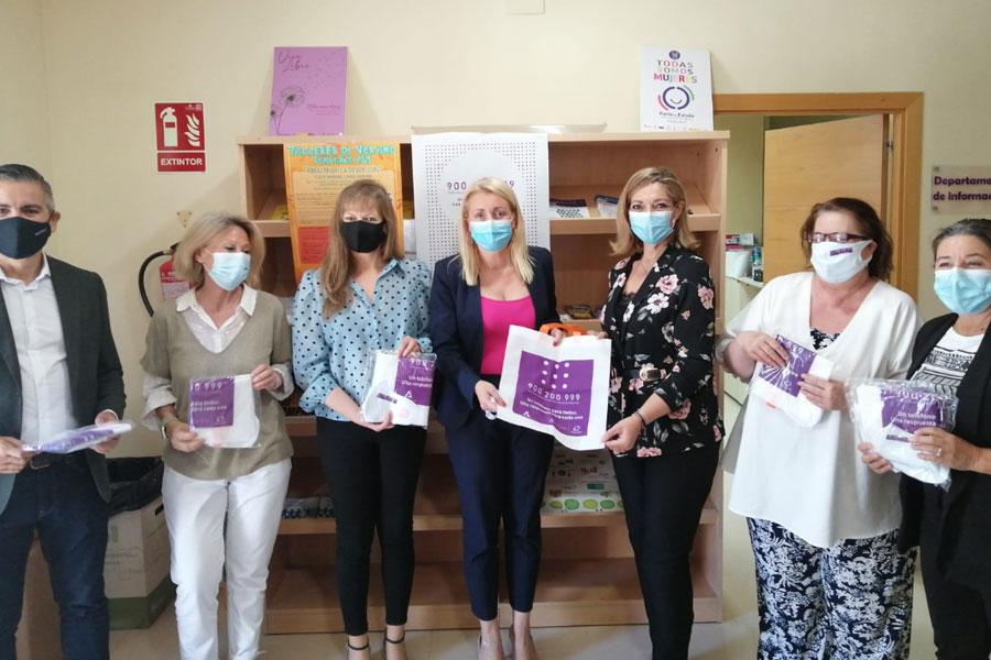 La directora del Instituto Andaluz de la Mujer visita el CMIM de Pozoblanco