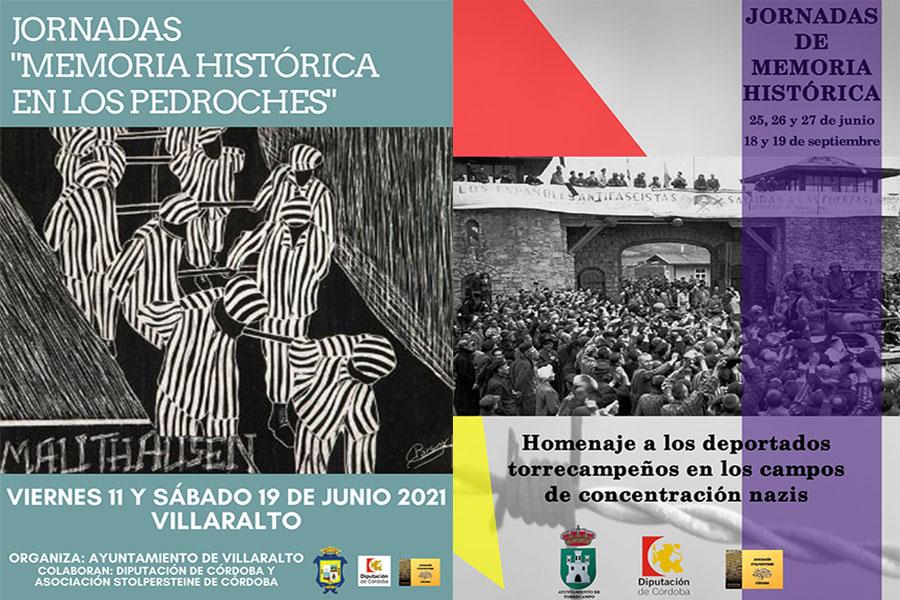 Intensas Jornadas de Memoria Histórica en Torrecampo y Villaralto