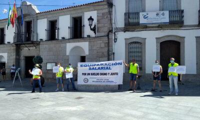 Ocho meses de protesta de la Policía Local de Villanueva de Córdoba
