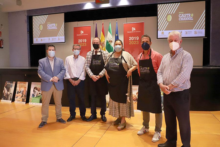Los GDR del norte de la provincia de Córdoba lanzan el canal gastronómico Rural Gastro Channel