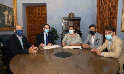 Iprodeco y la UCO renuevan el convenio que permite impulsar la Cátedra Repobla para luchar contra la despoblación en la provincia
