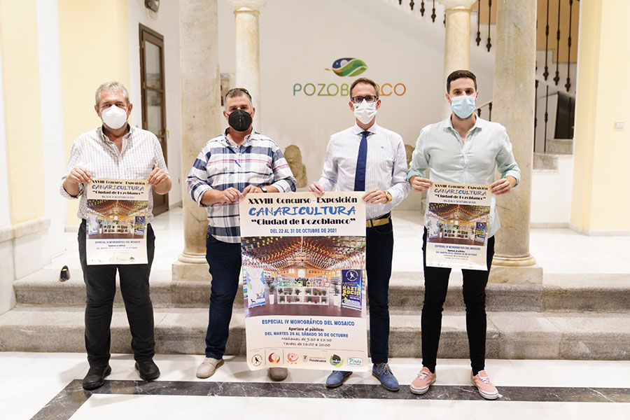 Pozoblanco acogerá más de 1.600 ejemplares en el concurso-exposición de canaricultura